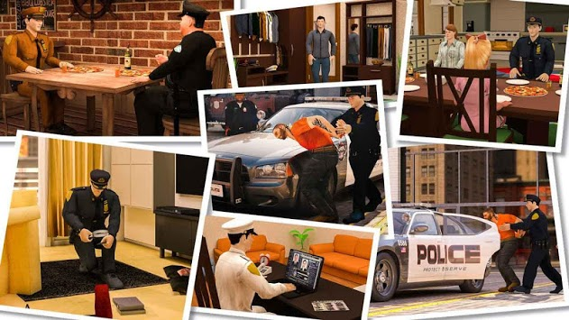 virtual police officer simulator: cops and robbers pc screenshot 2