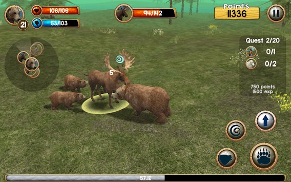 Wild Bear Simulator 3D pc screenshot 1