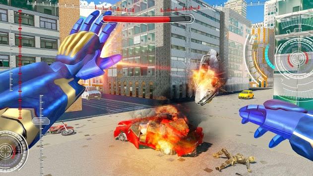 Iron Robot Superhero Rescue pc screenshot 1
