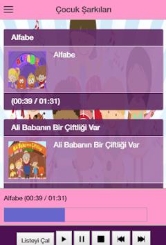 Çocuk Şarkıları İnternetsiz pc screenshot 1