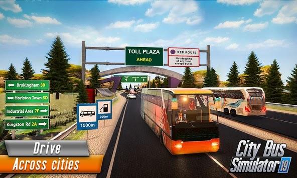 Euro Bus Driver Simulator 3D: City Coach Bus Games pc screenshot 1