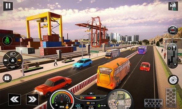 Euro Bus Driver Simulator 3D: City Coach Bus Games pc screenshot 2