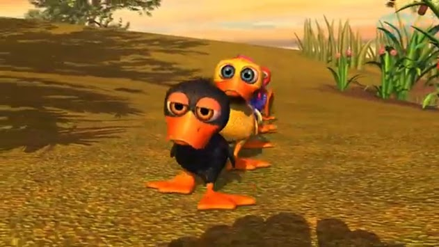 Video for children The rooster and the leg pc screenshot 1