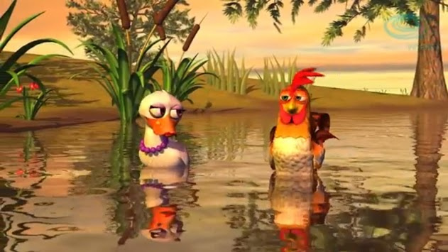 Video for children The rooster and the leg pc screenshot 2