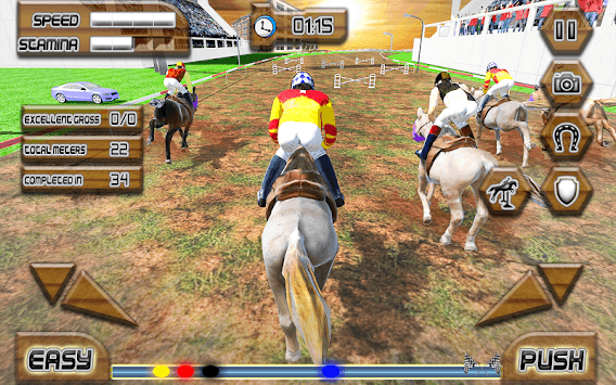 Play Horse Racing Game pc screenshot 1