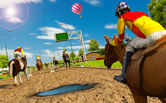 Play Horse Racing Game pc screenshot 2