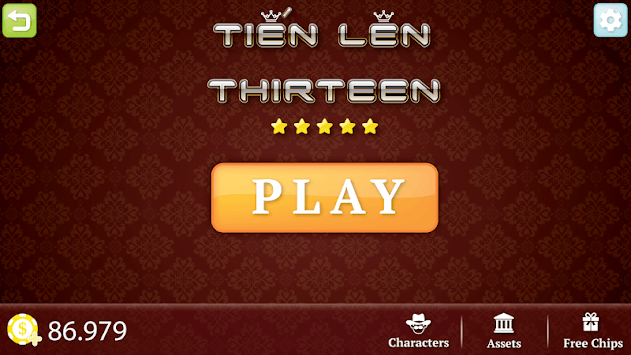Tien Len - Thirteen pc screenshot 1