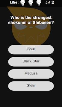 Soul Eater Quiz pc screenshot 1