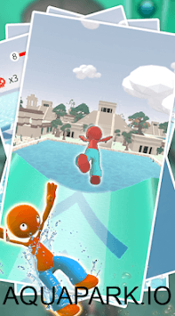 Waterpark Slide.io - Aqua pc screenshot 1
