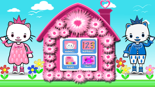 Hello Kitty Piano Animals&Numbers Learn pc screenshot 1