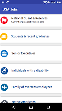 USA Jobs | All USA Gov. Jobs pc screenshot 1