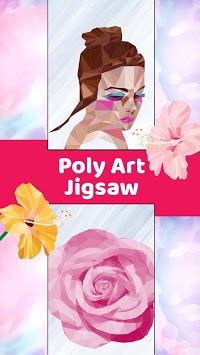 Poly Art Jigsaw Idle Painter Polygon by Number pc screenshot 1