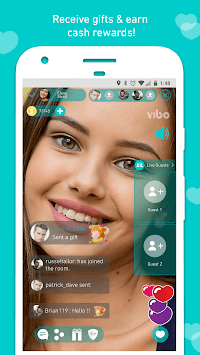 Vibo Live: Live Stream, Video chat, Random call pc screenshot 1