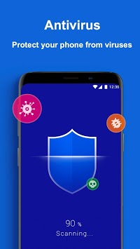 X Security - Antivirus, Phone Cleaner, Booster pc screenshot 1