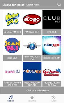 El Salvador Radios pc screenshot 1