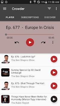 Crowder Podcast pc screenshot 1