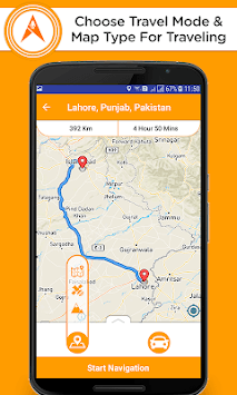 Voice GPS Driving– Directions navigation GPS, maps pc screenshot 2
