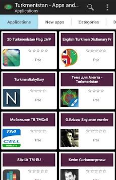 Turkmen apps and tech news pc screenshot 1