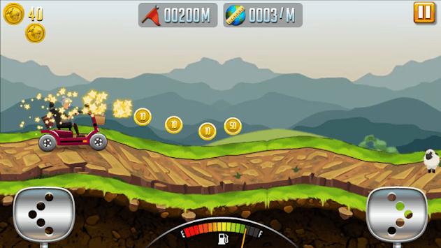 Angry Granny: Racing Car pc screenshot 1