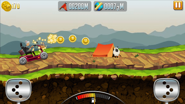 Angry Granny: Racing Car pc screenshot 2