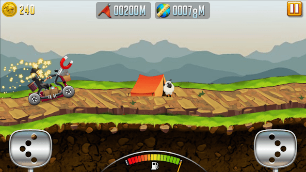 Angry Granny: Racing Car PC screenshot 3