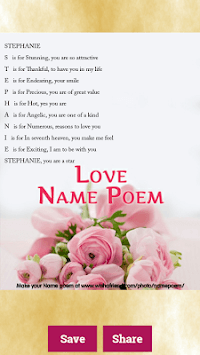 Name Meaning Generator – Free Poem Maker pc screenshot 2