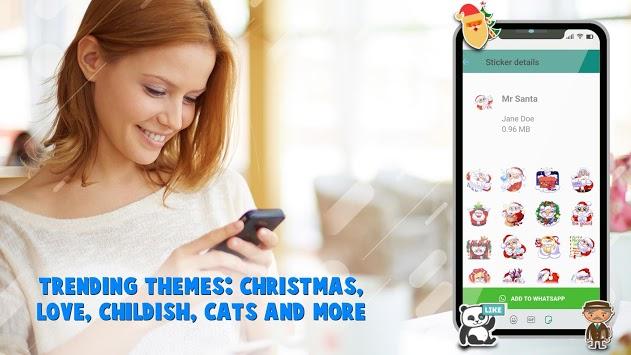WAStickerApps - Best Stickers for WApp Stickers pc screenshot 1