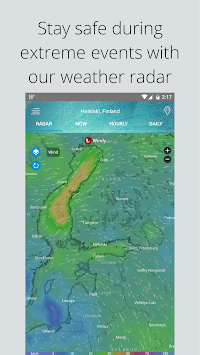 Weather Radar — Live Maps & Alerts pc screenshot 1