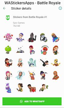 WAStickersApps - Battle Royale Stickers pc screenshot 2