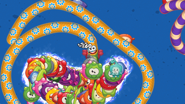 Worms Zone PC screenshot 1