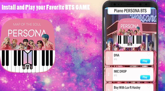 Piano BTS Game - Boy With Luv pc screenshot 1