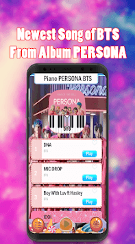 Piano BTS Game - Boy With Luv pc screenshot 2