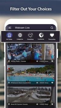 World Live Camera Viewer : Webcam, Earth cam pc screenshot 1