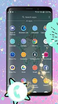 Unicorn Theme - Wallpapers and Icons pc screenshot 1