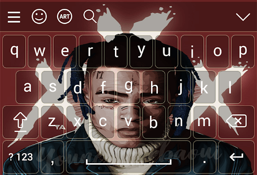 xXxTentacion Keyboard 2019 pc screenshot 1