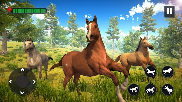 Wild Horse Family Simulator : Horse Games pc screenshot 1