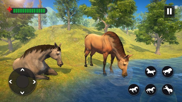 Wild Horse Family Simulator : Horse Games pc screenshot 2
