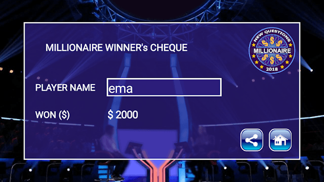 New Millionaire 2019 - Quiz Game pc screenshot 2