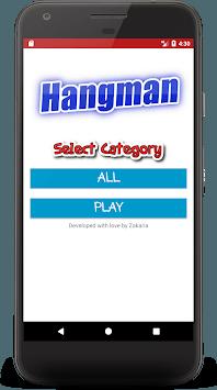 Hangman pc screenshot 1
