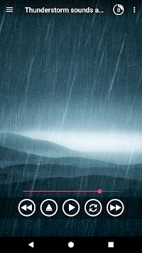 Thunderstorm sounds and rain sound for sleep pc screenshot 1
