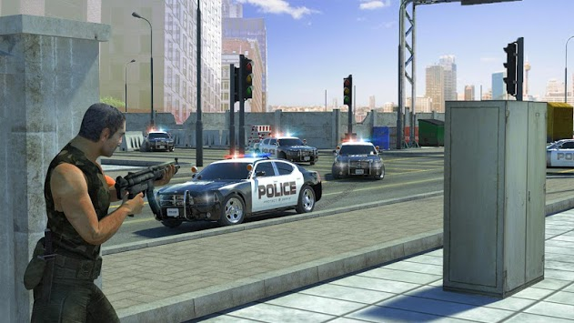 Police Car Chase: Real car Parking game: Cop Games pc screenshot 1