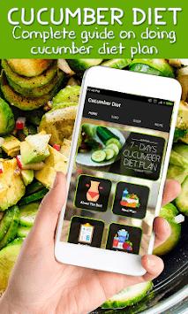 Best Cucumber Diet Weightloss Plan pc screenshot 1