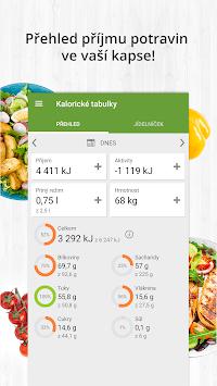 Kalorické tabulky - hubnutí a počítání kalorií pc screenshot 1