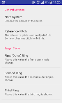 Pitch Tuner PC screenshot 2