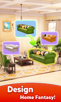 Home Fantasy - Blast Cube to Design Dream House pc screenshot 1