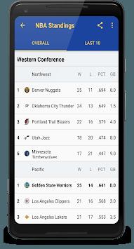 Golden State Basketball: Livescore & News pc screenshot 2