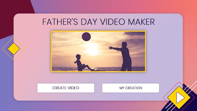 Fathers Day Video Maker pc screenshot 1