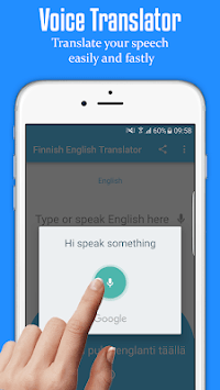 Finnish English Translator - Free Dictionary pc screenshot 1