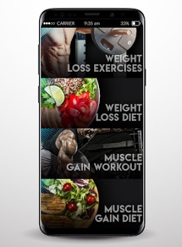 Home Fitness - Diet and Workout pc screenshot 2