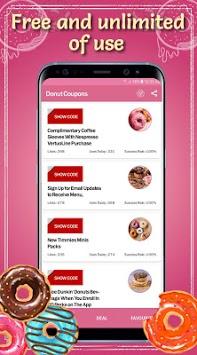 Donut Coupons pc screenshot 2